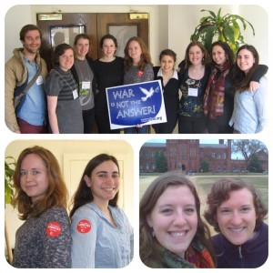 QVS Volunteers at FCNL Spring Lobby Weekend 2014